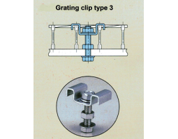 Grating Clip Type 3